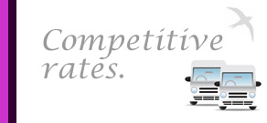 competitive coach hire rates London